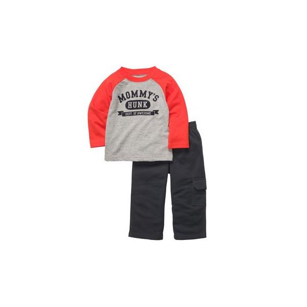 Комплект 2 в 1 для мальчика КАРТЕРС, 2-piece Pant Set