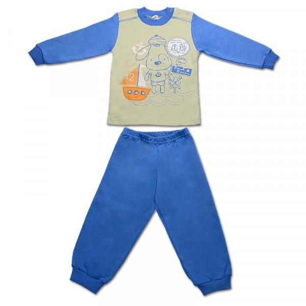 Пижама для мальчика ДРУЖОК (синий)