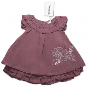 Платье для девочки СИРЕНЬ Caramell, интерлок