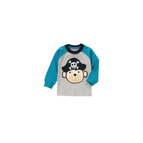Реглан для мальчика Pirate Monkey Tee от Gymboree