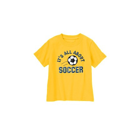 Футболка для мальчика Soccer Tee, хлопок