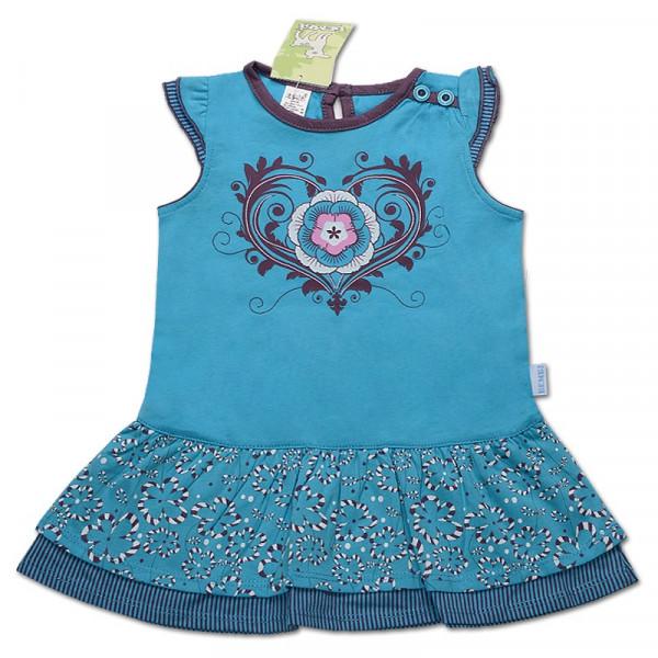 Платье супрем голубое