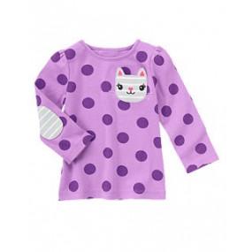 Реглан для девочки Kitty Pocket Dot, Джимбори