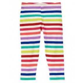 Леггинсы для девочки Rainbow Striped от Джимбори