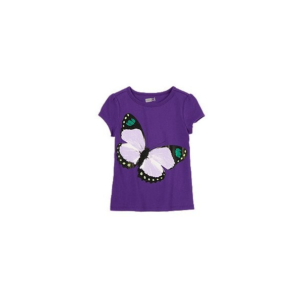 Футболка для девочки Sparkle Butterfly Tee от Crazy 8