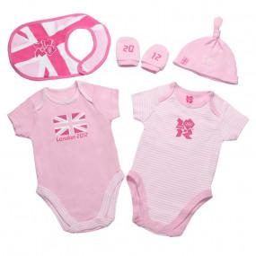 Комплект подарочный для девочки (5 предм.), GB Team (Англия)