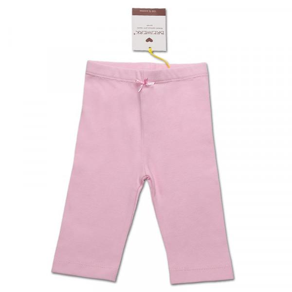Штаны для девочки, интерлок премиум (чайная роза)