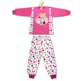 Пижамка для девочки POLKA DOTS, малина