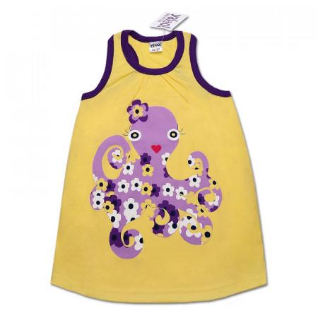 Платье-туника для девочки ОСЬМИНОЖКА