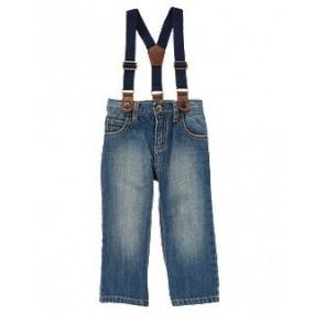 Джинсы на подтяжках от CRAZY8 - Straight Suspender Jeans