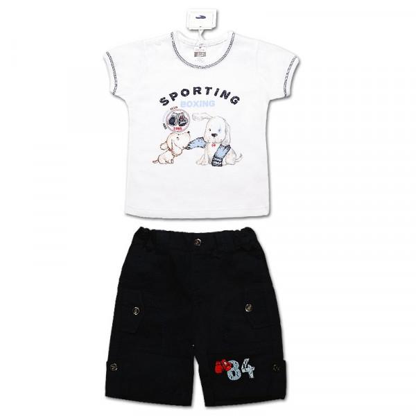 Комплект для мальчика Джордан (футболка, шорты) интерлок