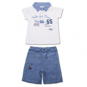 Комплект ля мальчика Фристайл (футболка, шорты) интерлок