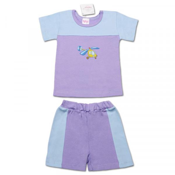Комплект летний хлопковый (футболка, шорты)