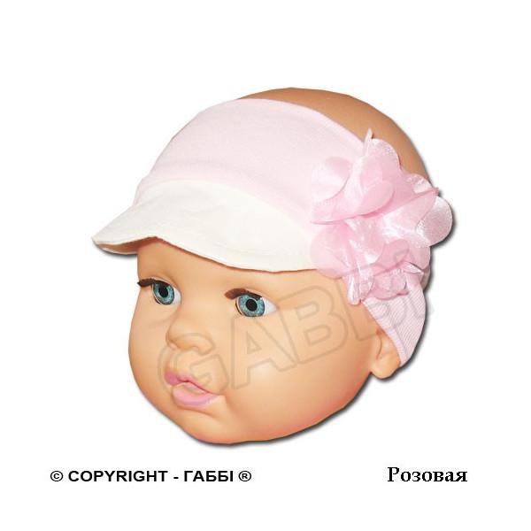 Ободок с козырьком для девочки (one size)