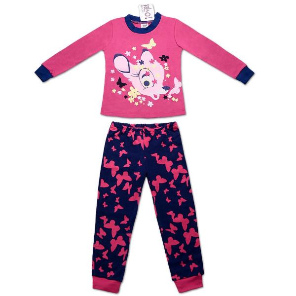 Пижама для девочки БЭМБИ (экохлопок)
