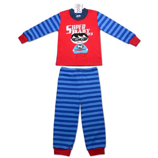 Пижама для мальчика СУПЕРБЭЙБИ (экохлопок)