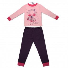 Пижама для девочки ФЕЯ (экохлопок)