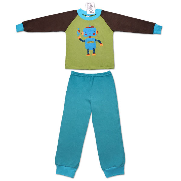 Пижама для мальчика РОБОТ (экохлопок)