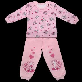 Пижама для девочки ЗАЙКИ, интерлок