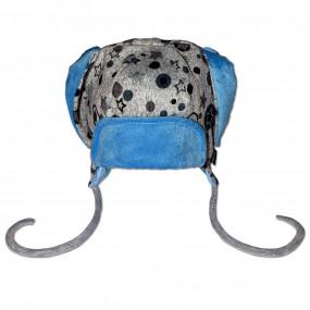 Шапка демисезонная Миша, голубой