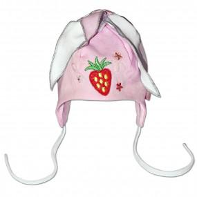 Шапка демисезонная Полина, розовый