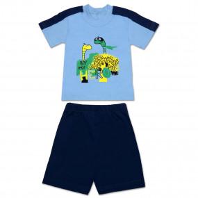 Комплект для мальчика HERO (футболка с шортами), 92-104 см