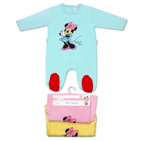 Слип Disney Минни сладких снов, кнопочки на спине
