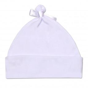 Шапочка нарядная без завязок Звездочка-2, белый