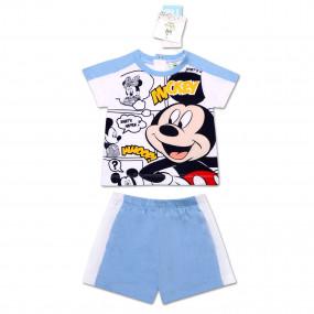 Комплект для мальчика Disney Mickey Mouse Whoop (67-86), бело-голубой