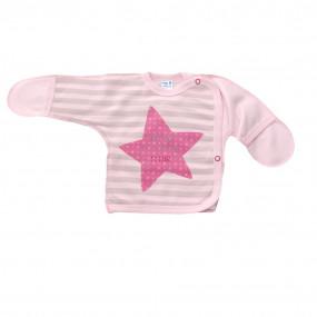 Леля теплая Маленькая звезда (футер), розовый