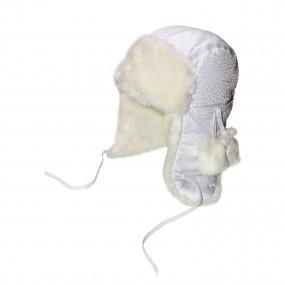 Шапка зимняя МАРГО, белый