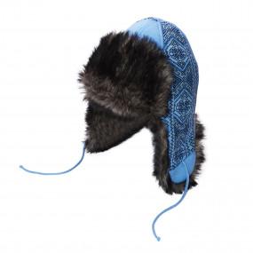 Шапка зимняя Вышиванка, голубой