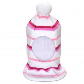 Шапка-шлем зимний Женя-2, белый