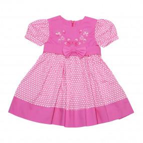 Платье Мерри лёгкое летнее из поплина