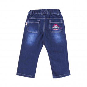 Брюки для мальчика GD0178 (80-92, джинс)
