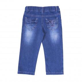 Брюки для девочки GD0188 (80-92, джинс)