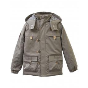 Куртка демисезонная для мальчика Expedition (серый хаки)