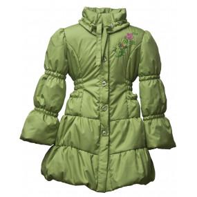 Пальто демисезонное для девочки SWEETY (весенняя листва)
