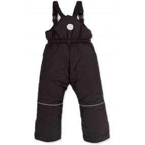 Полукомбинезон зимний (штаны на бретелях) для мальчика ТМ Goldy, тёмно-синий