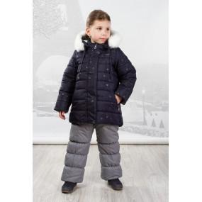 Куртка зимняя Margaret для девочки (подстежная овчина) Goldy