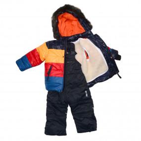 Комплект зимний Colorama (куртка, полукомбинезон) на отстежной овчине, ТМ Goldy