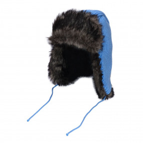 Шапка зимняя на синтепоне Энри, голубой