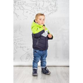Куртка EXTREME демисезонная для мальчика (салатовый), ТМ Goldy