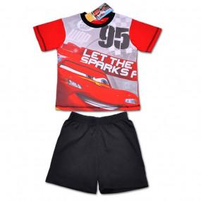 Комплект (футболка и шорты) Disney Cars, красный