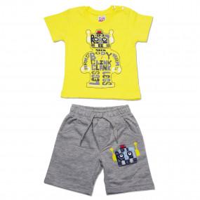 Комплект для мальчика Robot, жёлтый