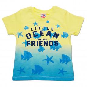Футболка OCEAN (жёлтый) 92-116