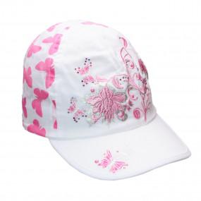 Кепка Butterfly для девочки, розовый