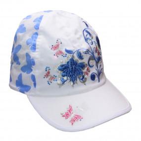 Кепка Butterfly для девочки, голубой