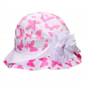 Ультралёгкая панама Бабочки, розовый