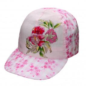 Кепка ультра-лёгкая Check для девочки, розовый